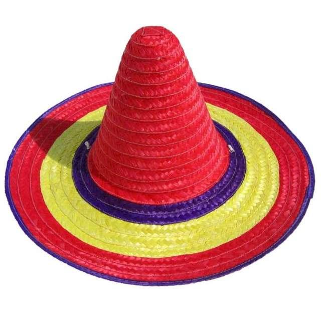 "Kapelusz ""Sombrero - Słomkowe"", PartyTino"