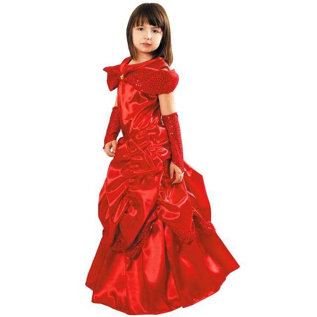 """Strój dla dzieci """"Bella Lux"""", czerwona, KRASZEK, rozm. 110/116 cm"""