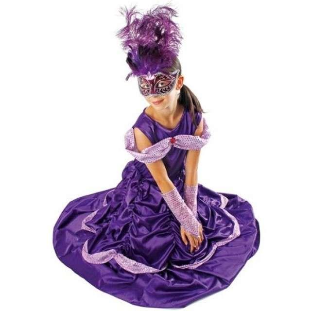 """Strój dla dzieci """"Bella Lux"""", fioletowa, KRASZEK, rozm. 110/116 cm"""