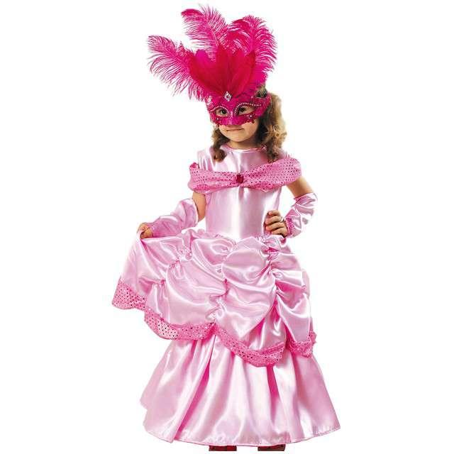 """Strój dla dzieci """"Bella Lux"""", różowa, KRASZEK, rozm. 122/128 cm"""