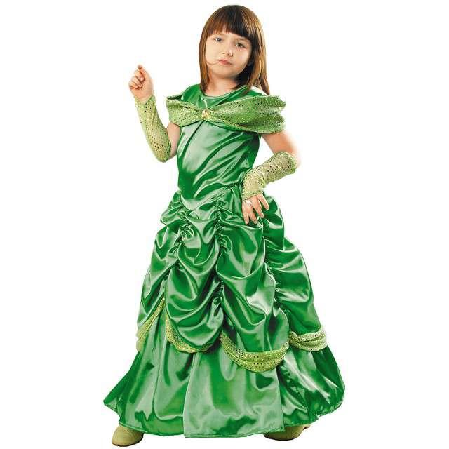 """Strój dla dzieci """"Bella Lux"""", zielona, KRASZEK, rozm. 122/128 cm"""
