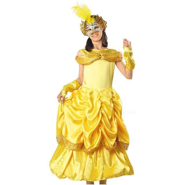 """Strój dla dzieci """"Bella Lux"""", żółta, KRASZEK, rozm. 122/128 cm"""