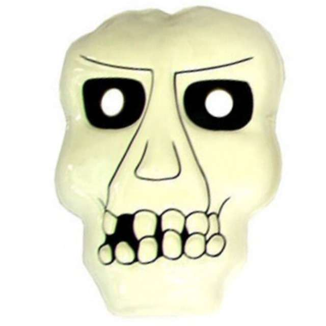 "Maska ""Horror Kościotrup"", plastikowa, FunnyFashion"