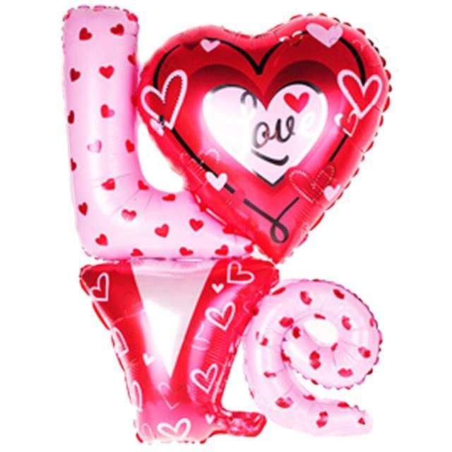 """Balon foliowy """"LOVE"""", OEM, 36"""" SHP"""