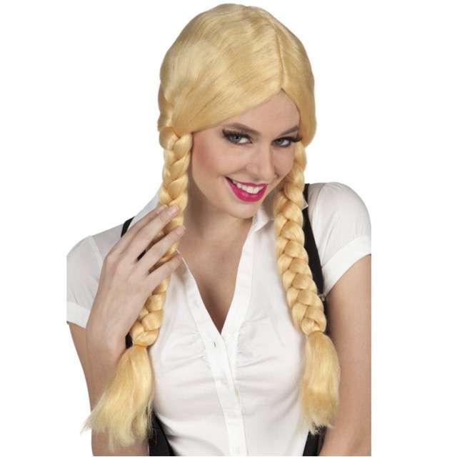 """Peruka party """"Blond Warkoczyki"""", Boland"""