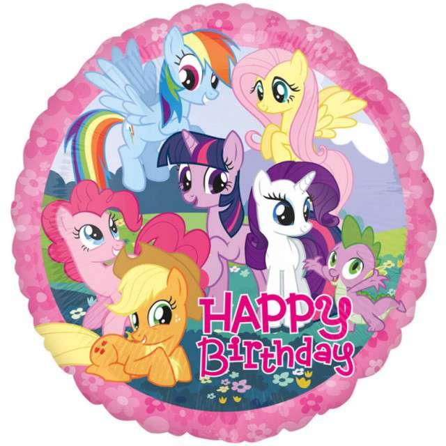 "Balon foliowy ""My Little Pony"", AMSCAN, 17"" CIR"