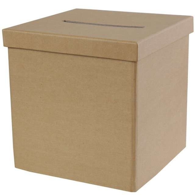 "Pudełko na telegramy ""Classic Craft"", SANTEX, brązowe"
