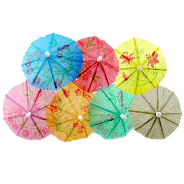 "Parasolki papierowe ""Classic"", mix, GODAN, 144 szt."