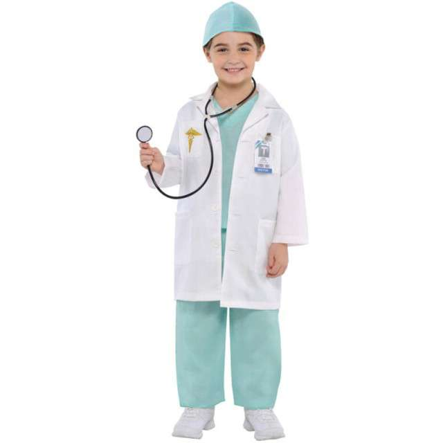 """Strój dla dzieci """"Lekarz"""", AMSCAN, rozm. 3-4 lata"""
