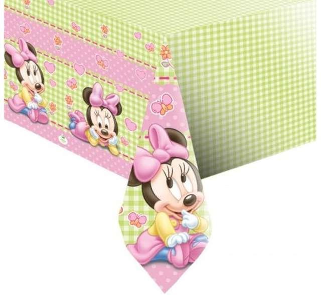 """Obrus foliowy """"Myszka Minnie"""", PROCOS, 180x120 cm"""