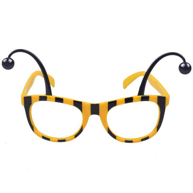 """Okulary party """"Pszczółka"""", żółte, ARPEX"""