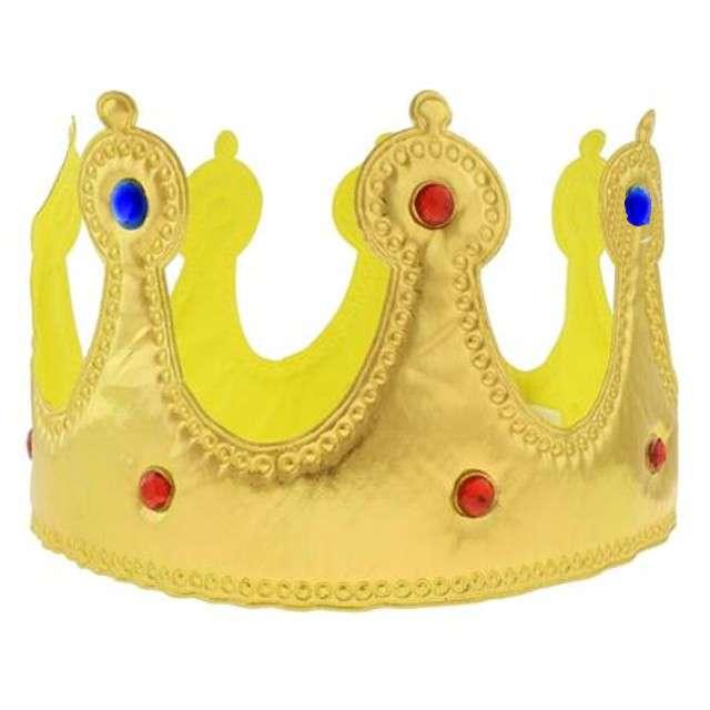 """Korona party """"Królewska"""", miękka, złota, ARPEX"""