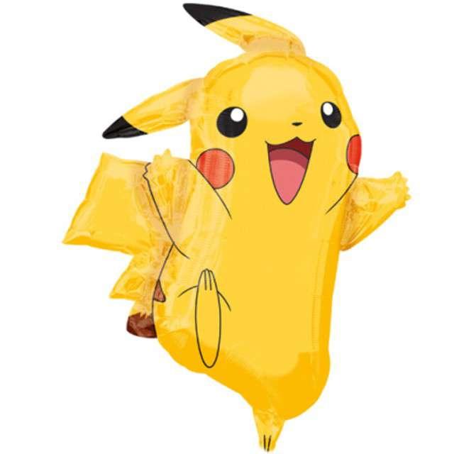 """Balon foliowy """"Pikachu - Pokemon"""", AMSCAN, 30"""" SHP"""