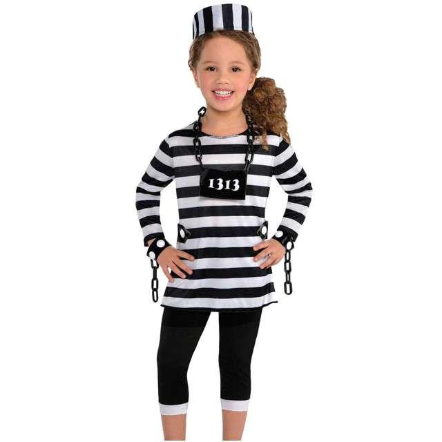 """Strój dla dzieci """"Więźniarka"""", AMSCAN, rozm. S"""