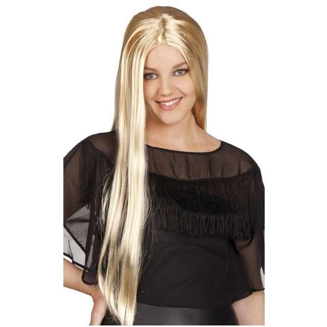 """Peruka party """"Długie Włosy - blond"""", BOLAND"""