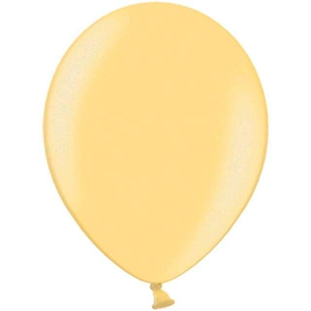 """Balony """"Celebration Metalic"""", pomarańczowy jasny, 10"""", 100 szt"""