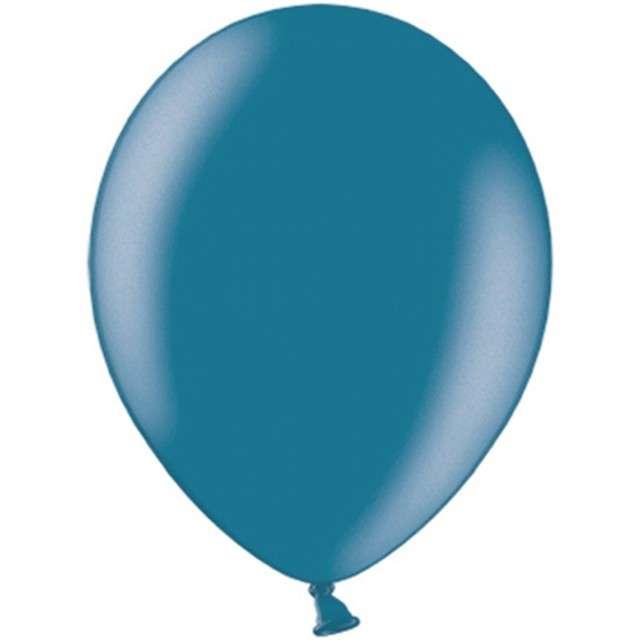 """Balony """"Celebration Metalic"""", granatowy, 10"""", 100 szt"""
