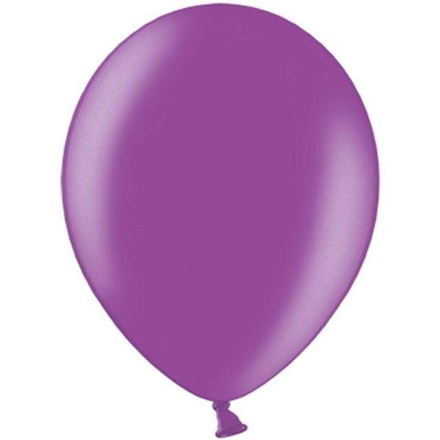 """Balony """"Celebration Metalic"""", śliwkowy, 12"""", 100 szt"""