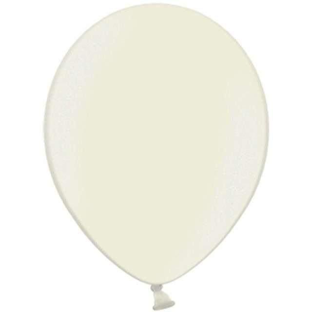 Balony Celebration Metalic kremowy jasny 9 100szt