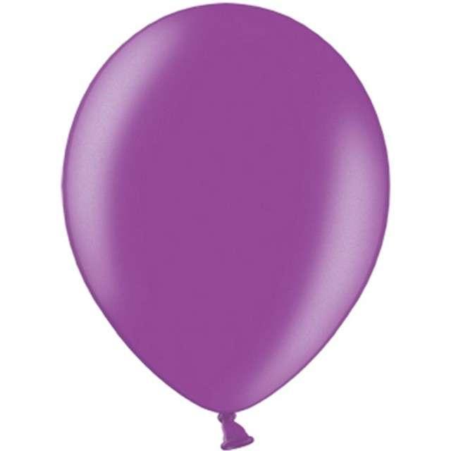 """Balony """"Celebration Metalic"""", śliwkowy, 9"""", 100 szt"""