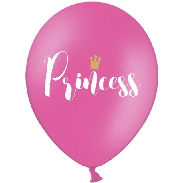 """Balony """"Princess"""", różowe, 12"""" STRONG,  50 szt"""