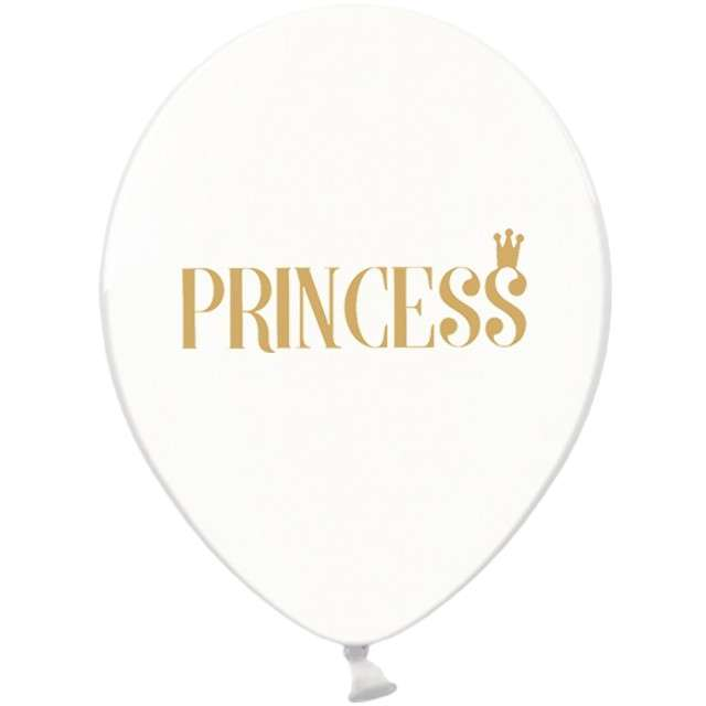 "_xx_""Balony 30cm, Princess, Crystal Clear"""