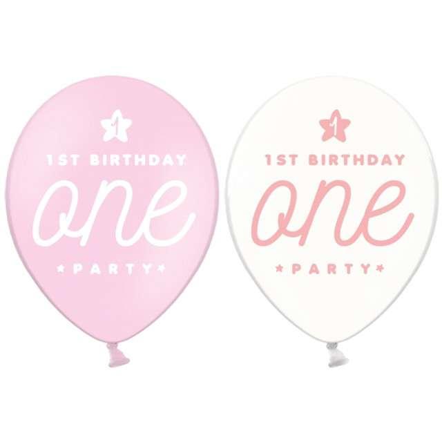 "_xx_""Balony 30cm, One, Pastel Baby Pink"""