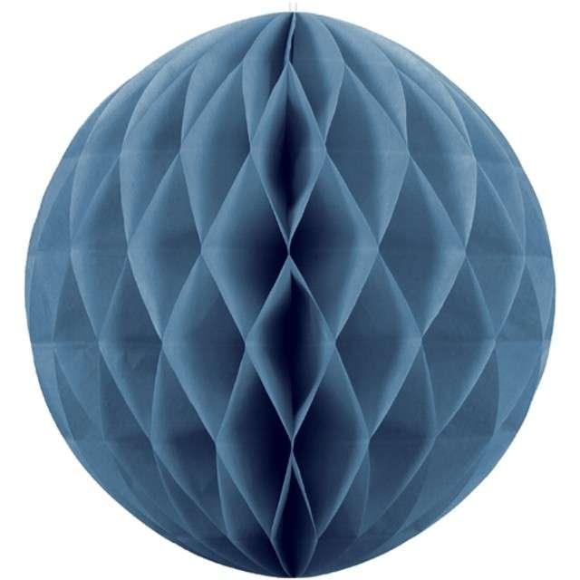"""Dekoracja """"Honeycomb Kula"""", niebieski, 30 cm"""