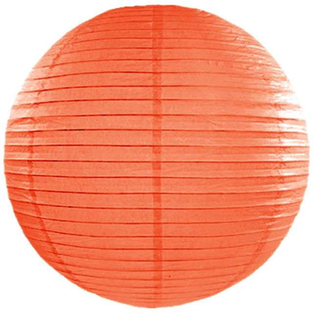 Lampion papierowy, pomarańczowy, 45 cm