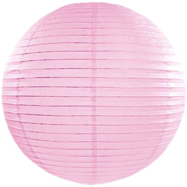 Lampion papierowy, różowy jasny, 45 cm