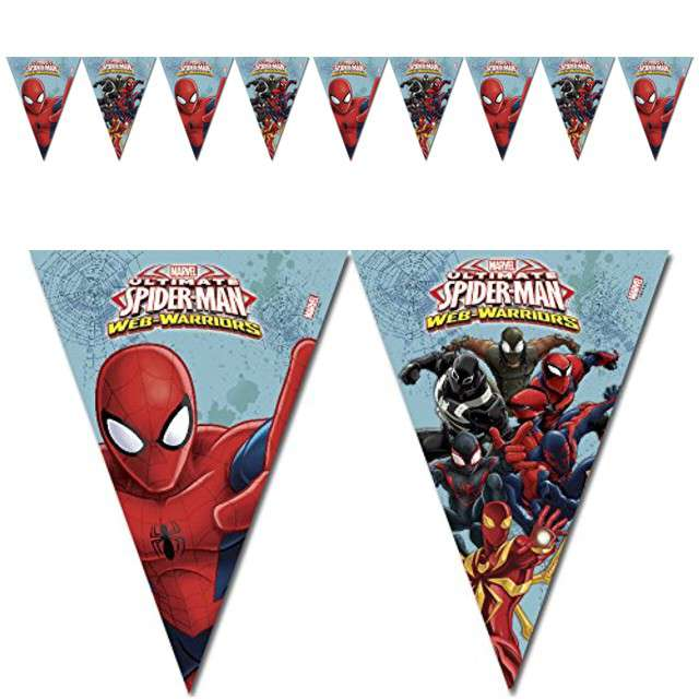 "Baner flagi ""Ultimate Spiderman"", PROCOS, 230 cm"