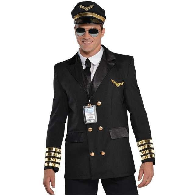 """Strój dla dorosłych """"Pilot Samolotu"""", AMSCAN, rozm. L"""