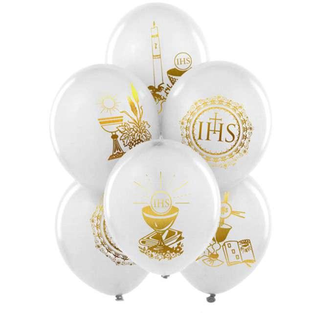 Balony 11 IHS BELBAL biały 25szt