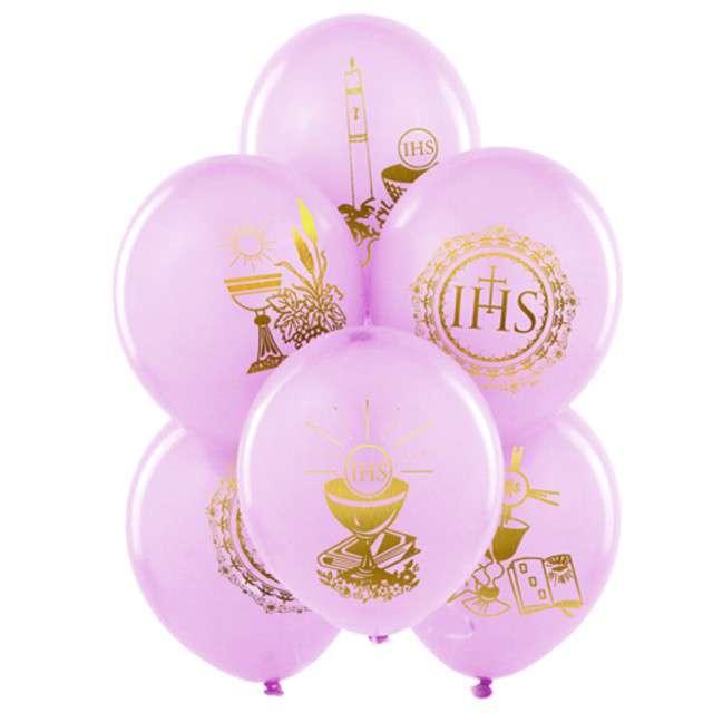 Balony 11 IHS BELBAL różowy 25szt