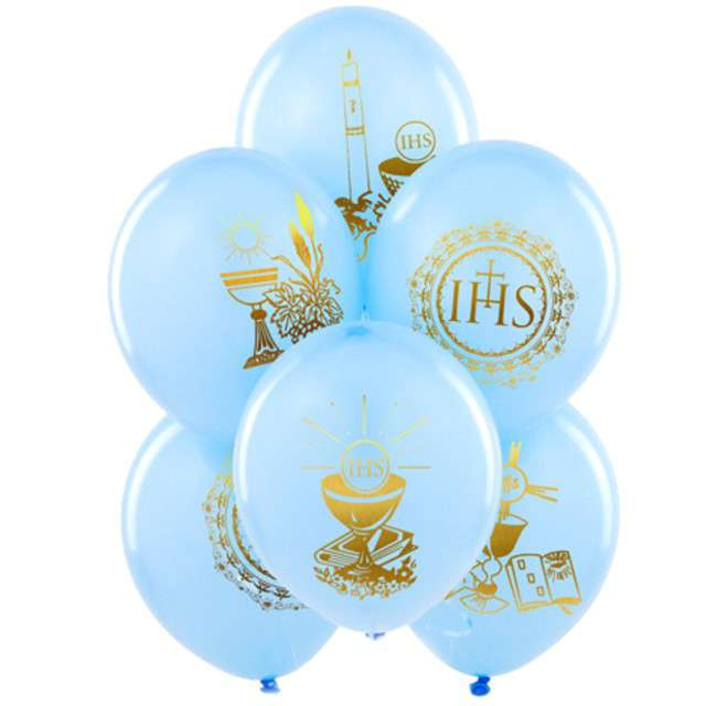 Balony 11 IHS BELBAL błękitny 25szt