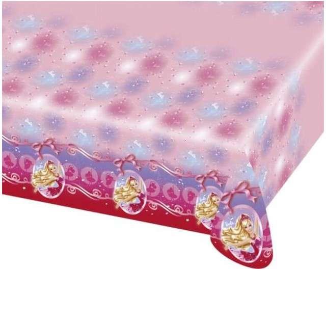 """Obrus foliowy """"Barbie"""", AMSCAN, 180x120 cm"""
