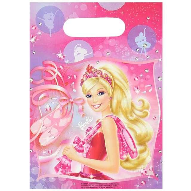 "Torebki foliowe ""Barbie"", AMSCAN, 6 szt"