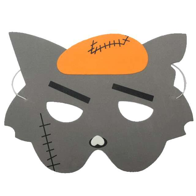 "Maska ""Wilk Zombie"", piankowa, Partytino"