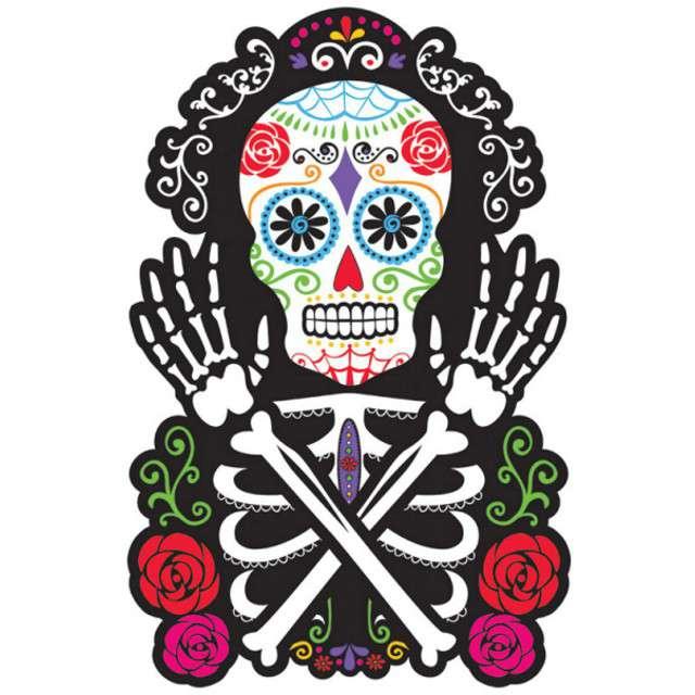 "Dekoracja kartonowa ""Day of the Dead"", AMSCAN, 38 cm"