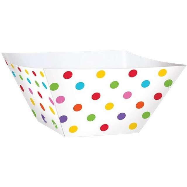 """Foremki na słodycze """"Snack Bowls Dots Rainbow"""", 24 szt"""