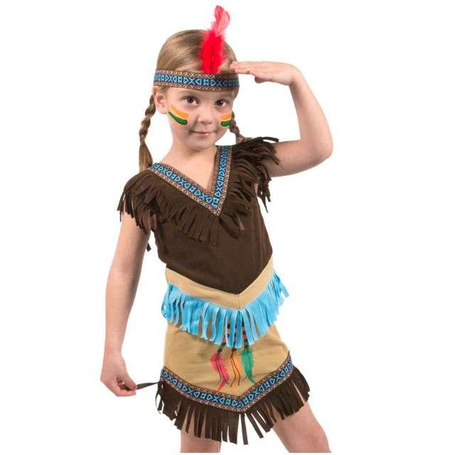 """Strój dla dzieci """"Indianka"""", Folat, rozm. 110/122 cm"""