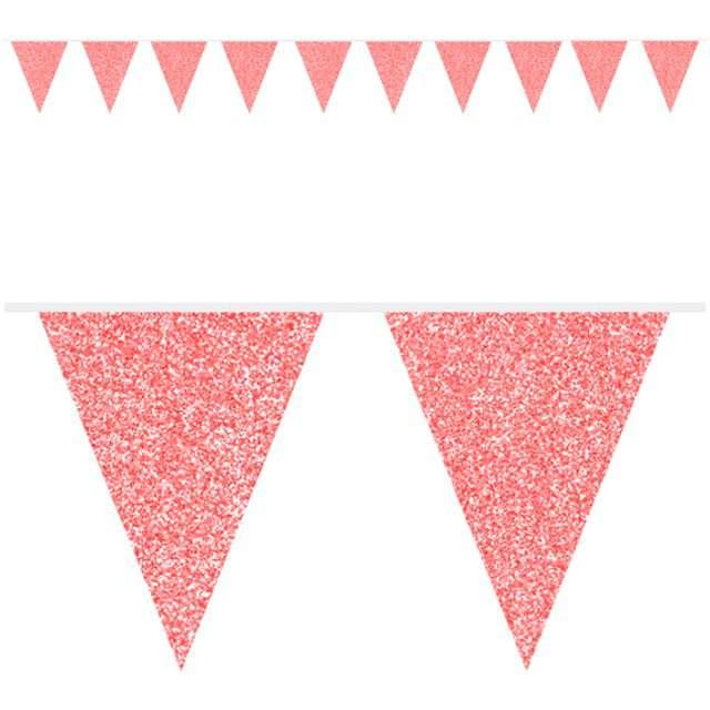 """Baner flagi """"Classic"""", czerwony brokatowy, FOLAT, 600 cm"""