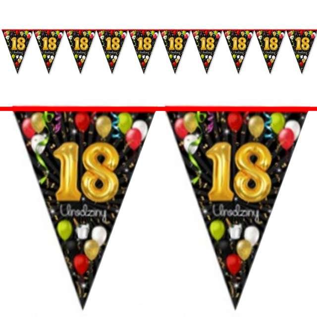 "Baner flagi ""18 urodziny"", 2 m"