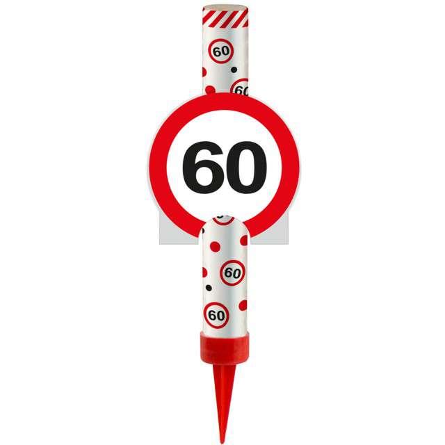 """Fontanna tortowa """"60 Urodziny - znak"""", FOLAT, 12 cm"""