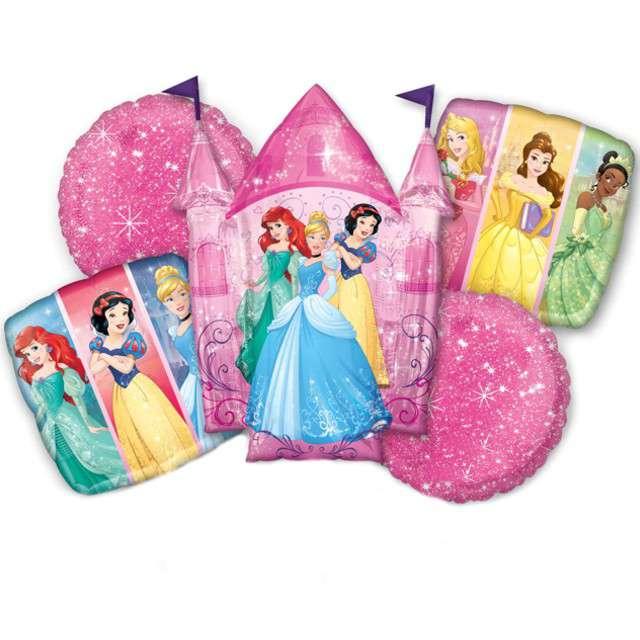 """Balon foliowy """"Księżniczki Disneya"""", AMSCAN, zestaw"""