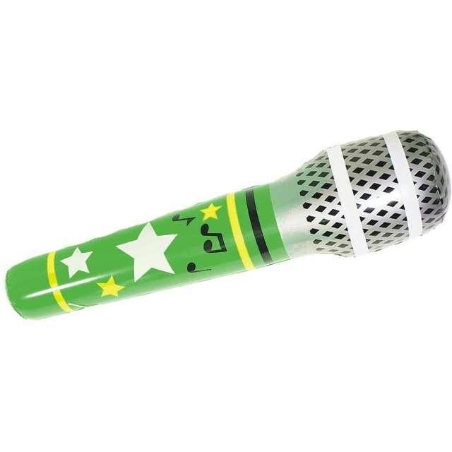 Dmuchany mikrofon, 85 cm, zielony