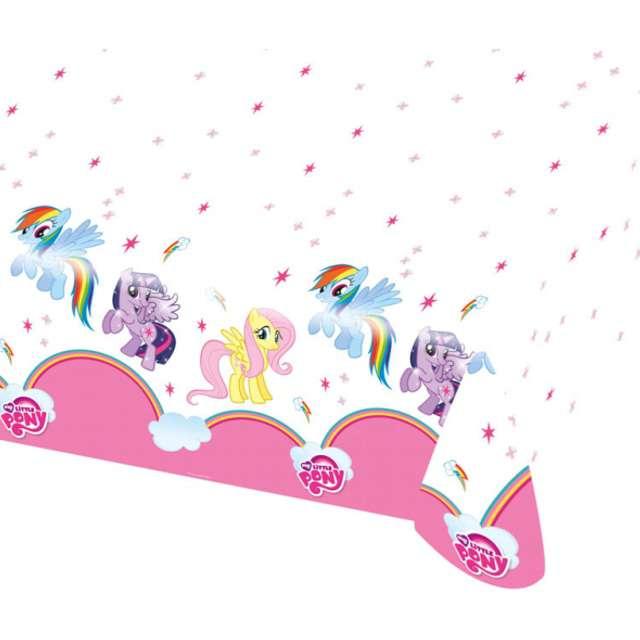 """Obrus foliowy """"My Little Pony Rainbow"""", 120 x 180 cm"""
