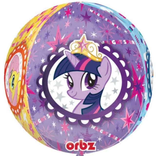 """Balon foliowy """"My Little Pony"""", AMSCAN, 16"""" ORB"""