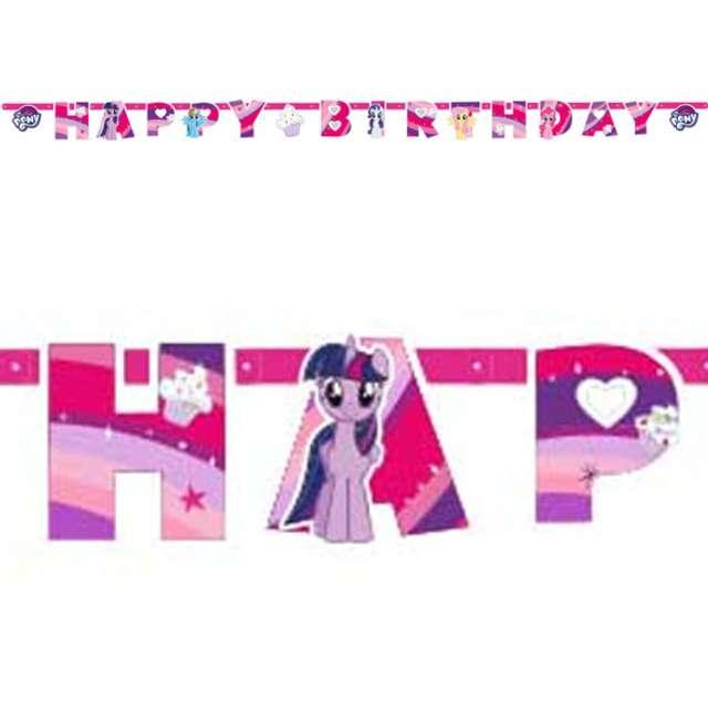 "Baner ""My Little Pony Happy Birthday"", 200 cm"