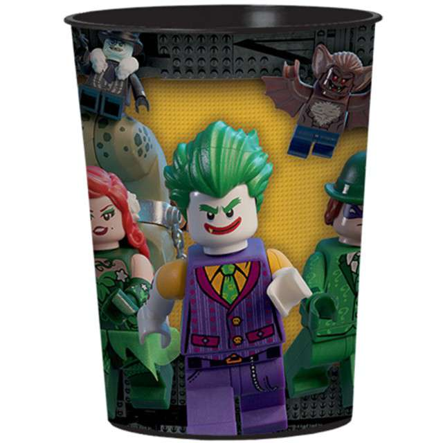 "Kubeczek plastikowy ""Lego Batman"", AMSCAN, 473 ml"